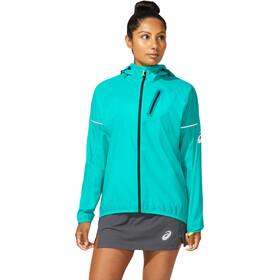 asics Fujitrail Jacket Women, turquoise